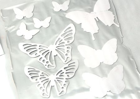 Butterfly-carrier-sheet