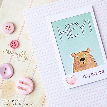 Hey bear by carolyn peeler