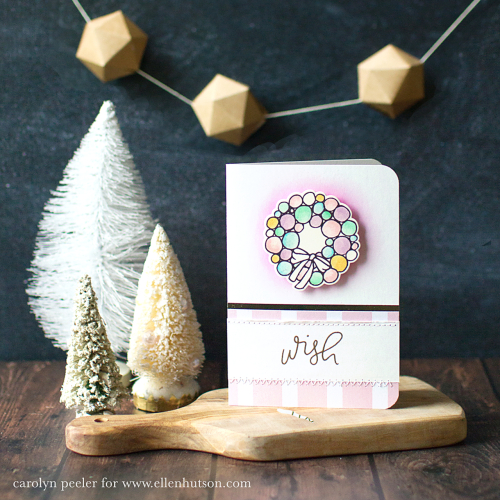 Wish card with garland 2