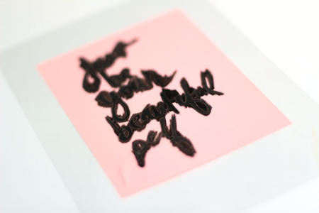Screen-print-marker