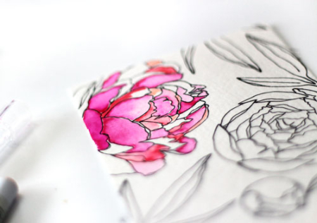 Peonies-watercolor-petals