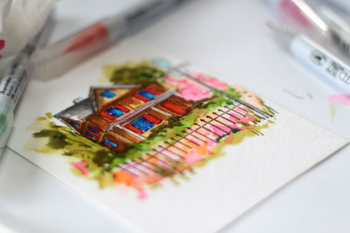 House-with-markers