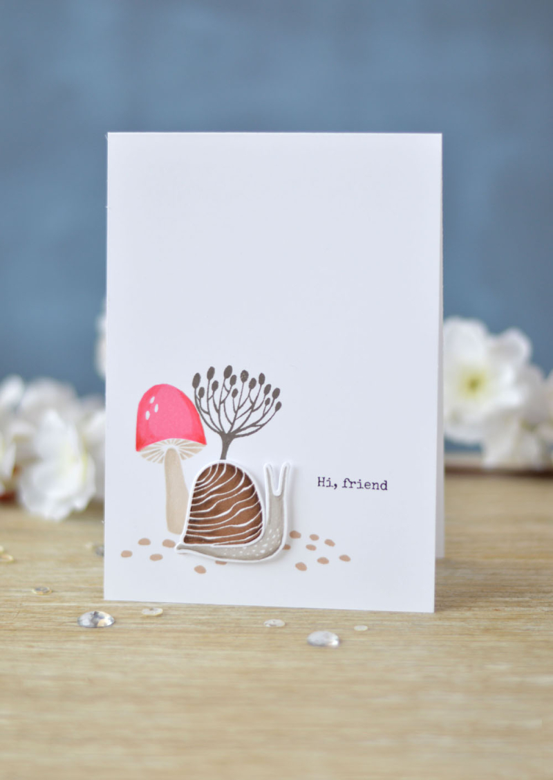 Lostinpaper - Essentials By Ellen - Snailed It (card video) 2