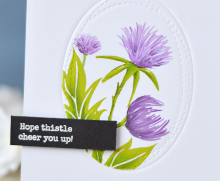 Lostinpaper - Essentials By Ellen - Thistle (card video) 1