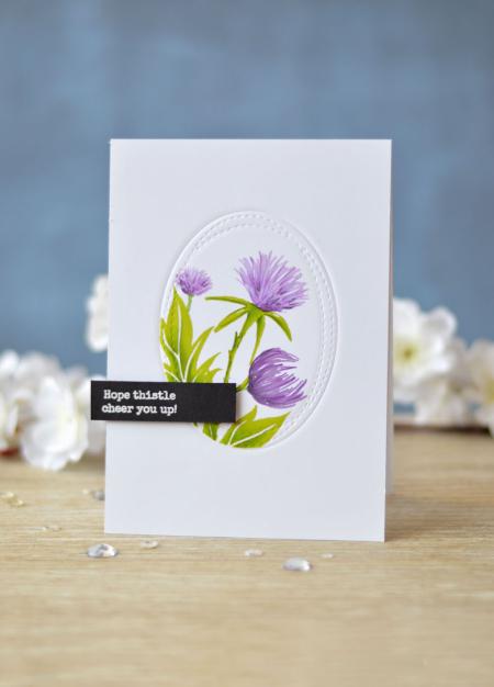 Lostinpaper - Essentials By Ellen - Thistle (card video) 2