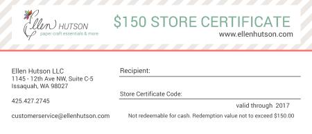 150 Store Credit 2017