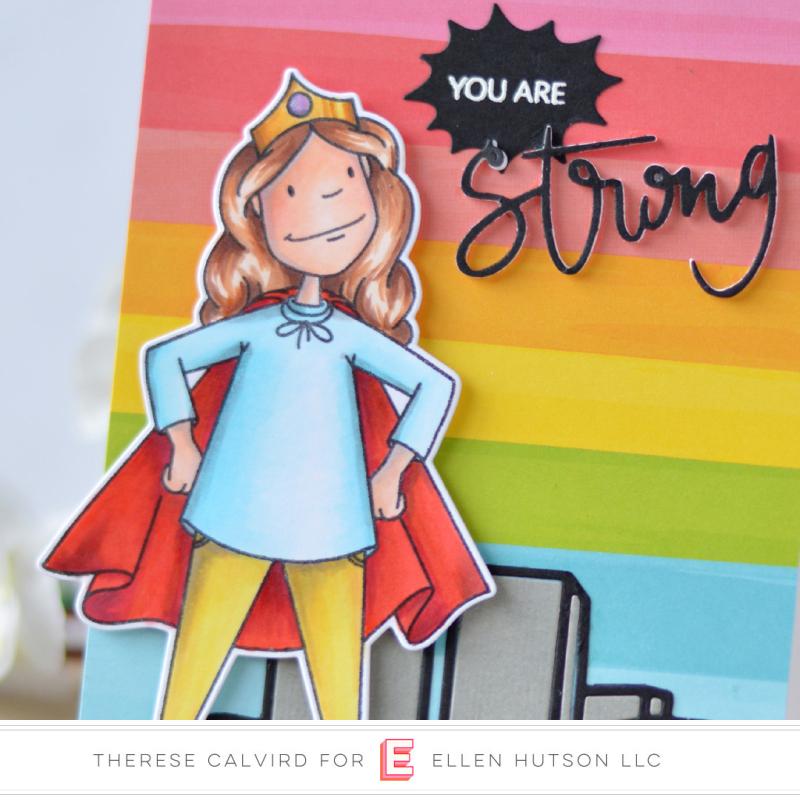 Lostinpaper - Ellen Hutson - Leading Ladies - Everyday Hero Lady - Strong (card video) 1 copy