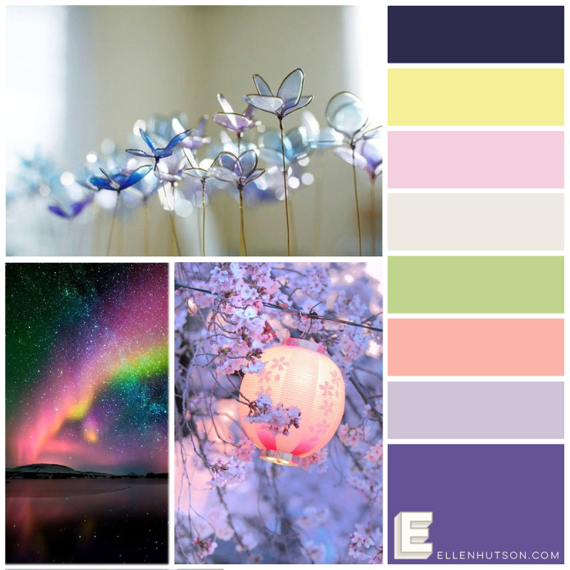 Color Trend Floral Fantasies May
