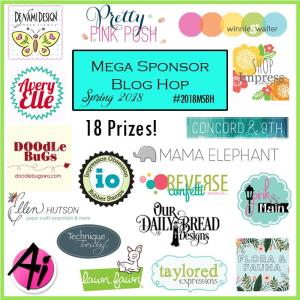 2018 Mega Sponsor Blog Hop
