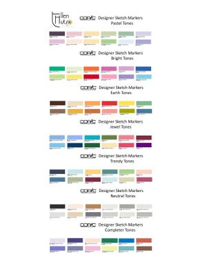 Simple Dreams Copic Markers