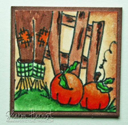 Rustic Inchie Example - Sharon Harnist