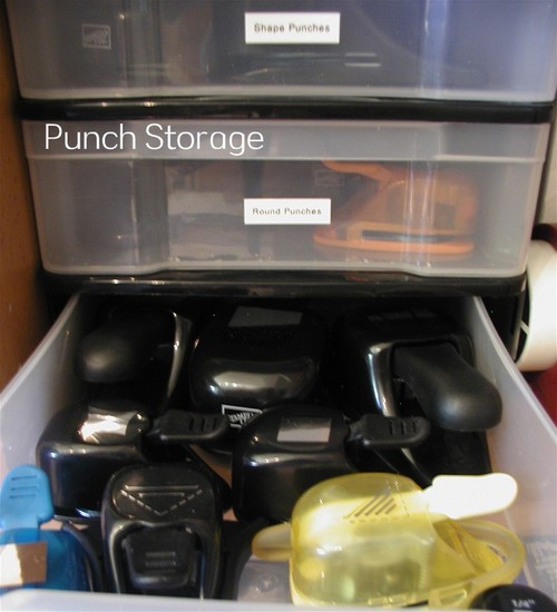 Punch Storage Drawer