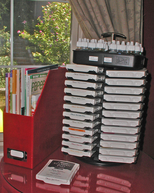 SU Ink Pad Storage