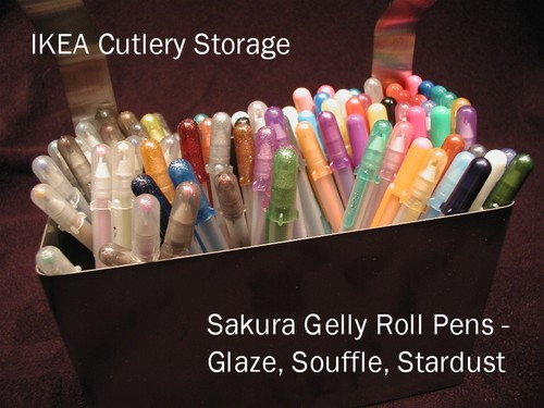 Gelly Roll Pen Storage