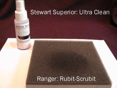 Ultra Clean and Rubit Scrubit